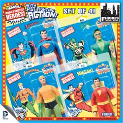 Super Powers 8 Inch Action Figures With Fist Fighting Action Series 1