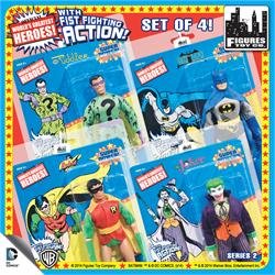 Super Powers 8 Inch Action Figures With Fist Fighting Action Series 2