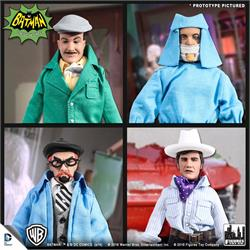 Batman Classic 1966 TV Series Action Figures Villain Variant Series