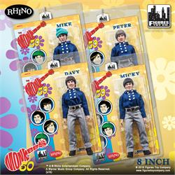 The Monkees Retro 8 Inch Action Figures