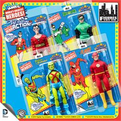 Super Powers 8 Inch Action Figures With Fist Fighting Action Series 3