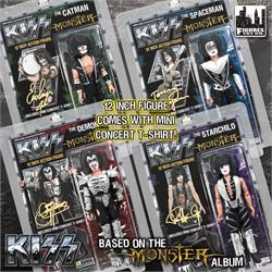 KISS 12 Inch Action Figures Series 4