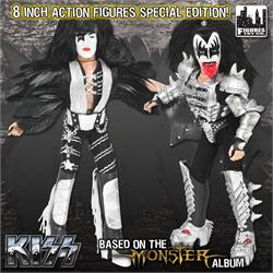 KISS 8 Inch Action Figures Series 4 Variants