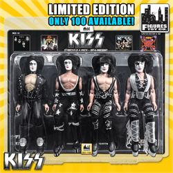 KISS 8 Inch Figure Four-Packs