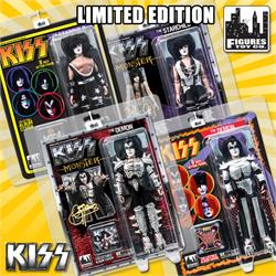 KISS Special Edition Figures With Updated Head Sculpts