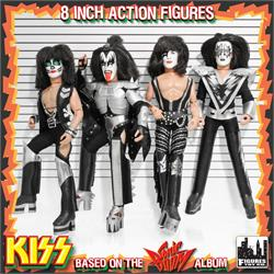 KISS 8 Inch Action Figures Series 3