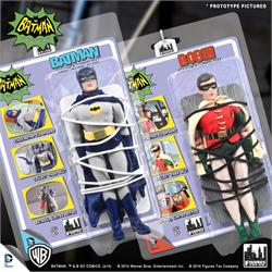 "Batman Classic TV Series 8 Inch Figures ""Heroes In Peril"" Deluxe Variants"