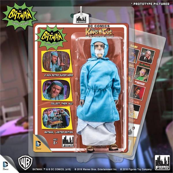 Batman Classic 1966 Tv Series Retro 8 Inch Action Figures