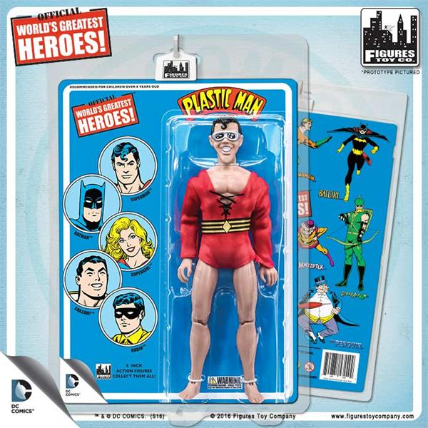 Official DC Comics Wonder Woman 8 inch Action Figure on Retro Card