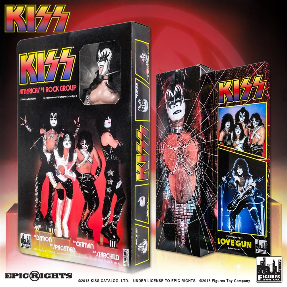 The Spaceman KISS 12 Inch Action Figures Series 9 Love Gun
