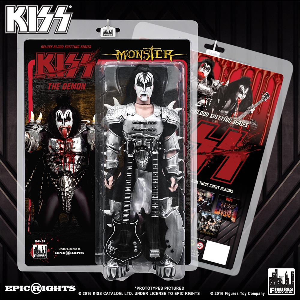 KISS The Demon Blood Spitting Sonic Boom Deluxe 12 Inch Action Figures