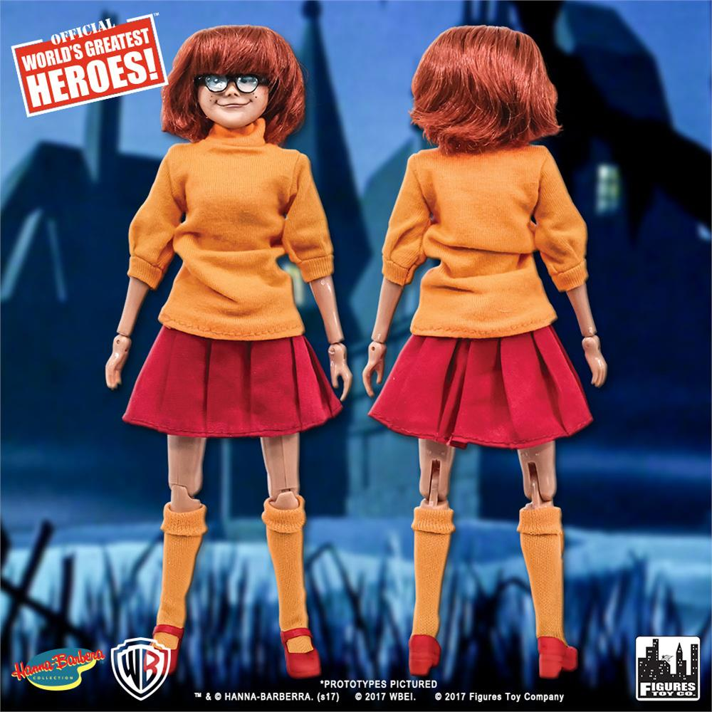 Scooby Doo 8 in style rétro Action Figures Series Scooby-Dum environ 20.32 cm