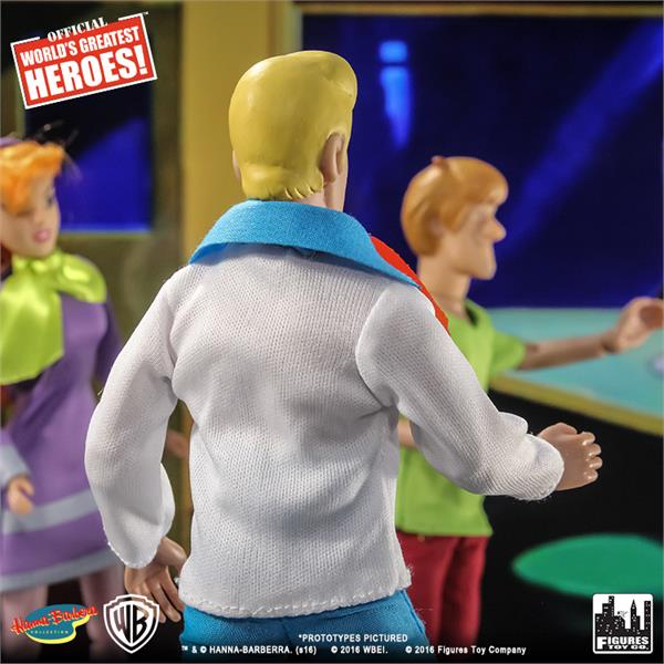 Scooby Doo Retro 8 Inch Action Figures Series One Loose in Factory Bag Fred