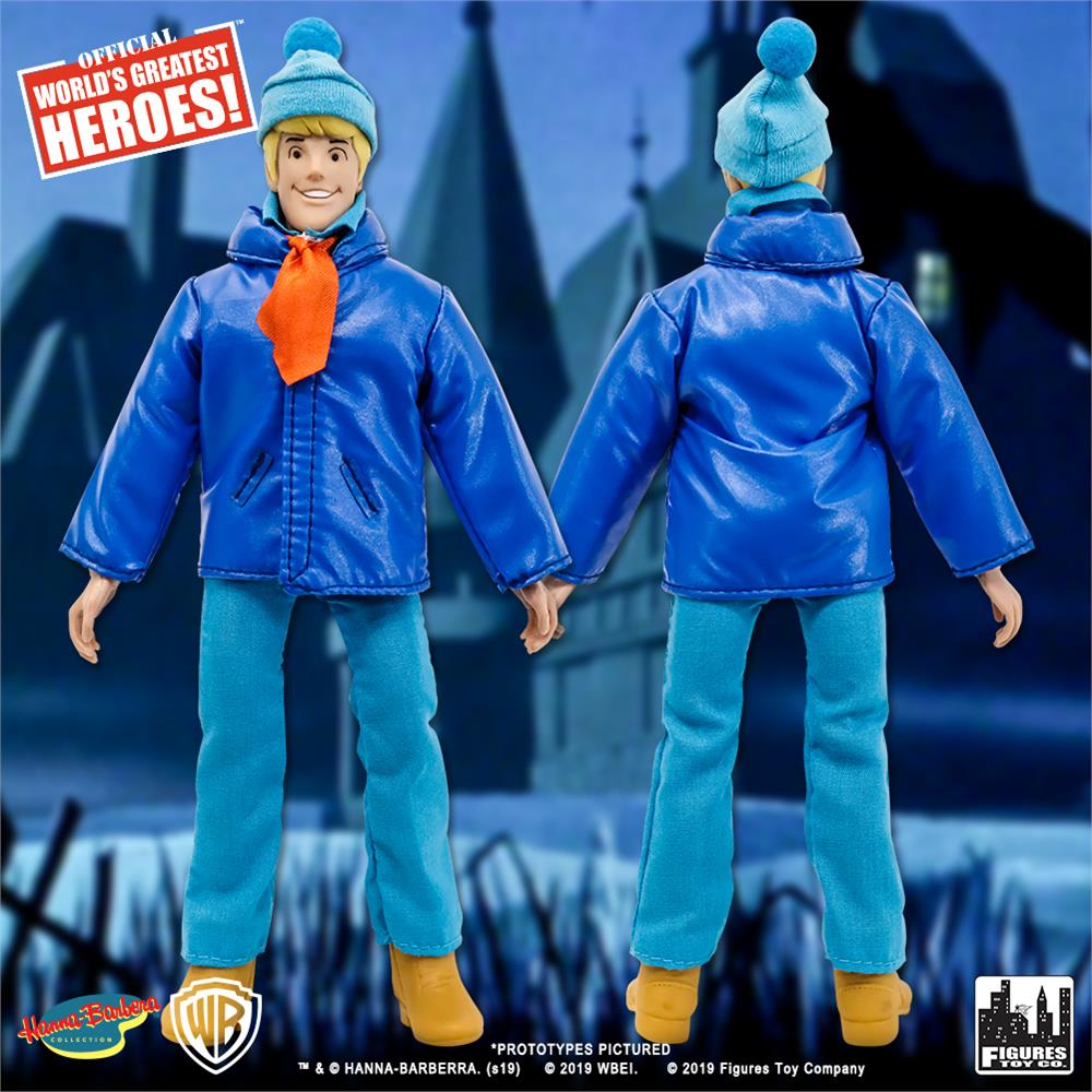 Scooby Doo Retro 8 Inch Action Figures Series One Fred