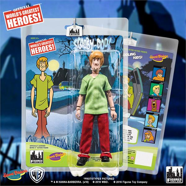 Phantom Shadows Two-Pack Scooby Doo Retro 8 Inch Action Figures Series
