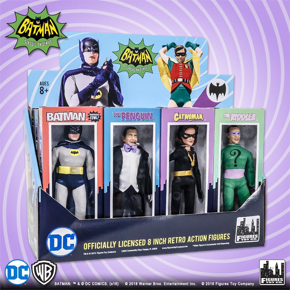 Batman Classic TV Series Boxed 8 Inch Action Figures Mad Hatter