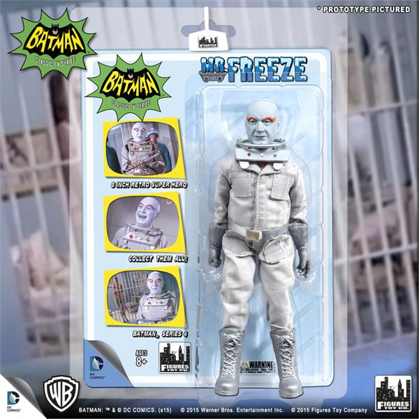 BATMAN 1966 TV SERIES 4; KING TUT 8 INCH ACTION FIGURE MOSC NEW FIGURES TOY CO