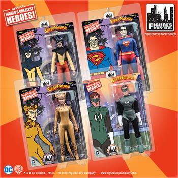 Loose in Factory Bag Robin Super Friends Retro Action Figures Series 1