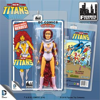 THE NEW TEEN TITANS  STARFIRE 8 INCH FIGURE NEW IN POLYBAG