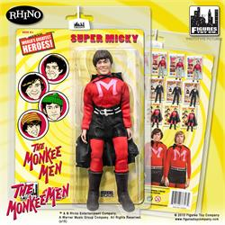 The Monkees 8 Inch Retro Action Figure Variants Lab Coat Micky Dolenz
