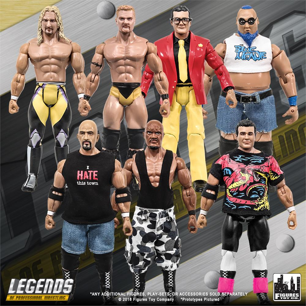 Legends of Professional Wrestling série Action Figure-Jerry Lynn